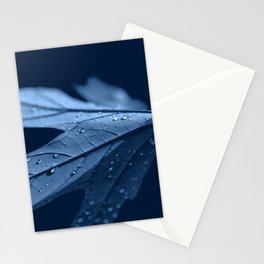 Dew Drops in Night Forest Stationery Cards