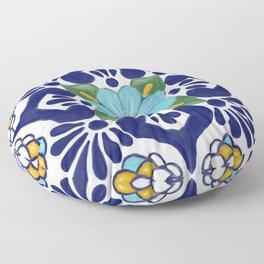talavera tile 2 Floor Pillow