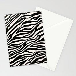 Zebra Animal Print Pattern Stationery Cards