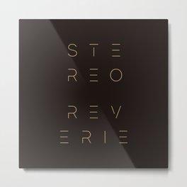 Stereo Reverie Stack Metal Print