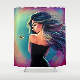 A Frozen Second Shower Curtain