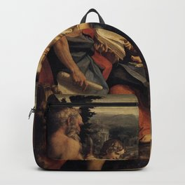 Antonio da Correggio - Madonna of St Jerome Backpack