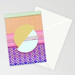 VHS Sunset Stationery Cards