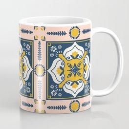 Floral Mosaic  Coffee Mug