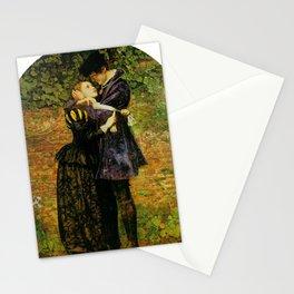 John Everett Millais - A Huguenot (A Huguenot on St Bartholomew's Day) Stationery Cards