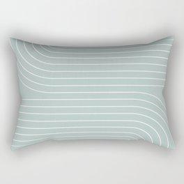 Minimal Line Curvature VII Rectangular Pillow