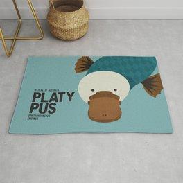 Hello Platypus Rug