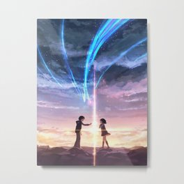 Kimi no na wa Your name Posters Metal Print