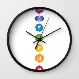 Meditation Symbol Faith Hierachie Color Gift Wall Clock
