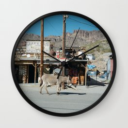 Jackass Junction Wall Clock