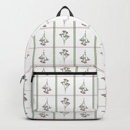 Archillea Flower Pattern Backpack