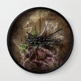 The Marauders Wall Clock