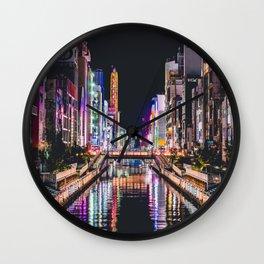 Tokyo 48 Wall Clock