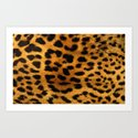 Trendy girly pattern wild safari animal Leopard Print by chicelegantboutique