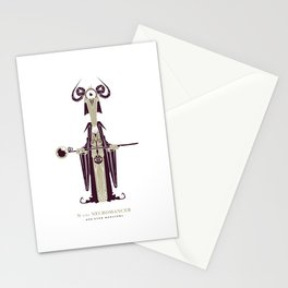 N is for Necromancer Stationery Cards