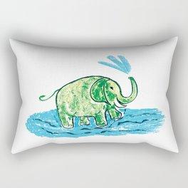 Funny elephant 4 Rectangular Pillow