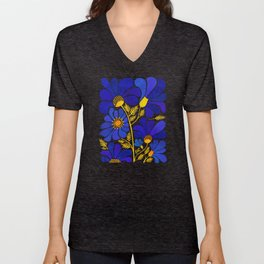 The Happiest Flowers Unisex V-Ausschnitt