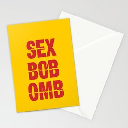 Sex Bob-Omb Stationery Cards