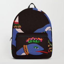Shahmaran, half woman half snake Backpack