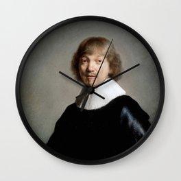 Portrait of Jacob de Gheyn (III) Wall Clock