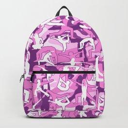 Yoga Harmony Camo PINK Backpack