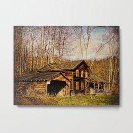 John Burroughs Woodchuck Lodge Metal Print