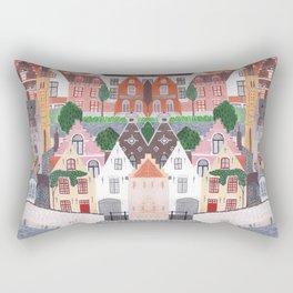 Brugge  Rectangular Pillow
