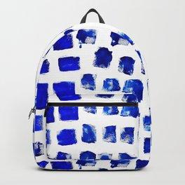 Blue brush Backpack
