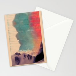 Blue sense8 Stationery Cards