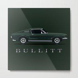 Bullitt Metal Print