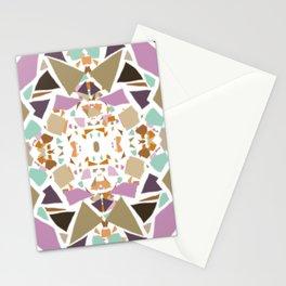 Nougat Kaleidoscope Stationery Cards