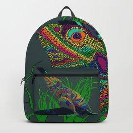 Colorful Lizard Backpack