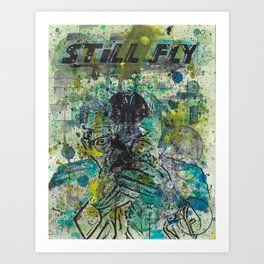 Deleted Scene 003 Still Fly Art Print