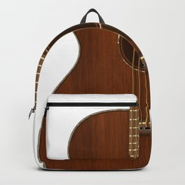 Acoustic Guitar Art Backpack