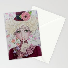 April - Sweet Pea Stationery Cards