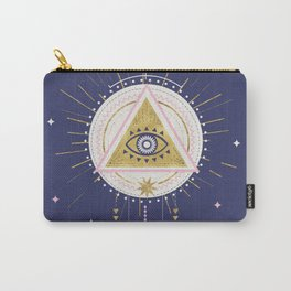 Magical night tarot illustration no5 Carry-All Pouch