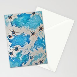 If Snowflakes Were Kisses I'd Send You A Blizzard Stationery Cards