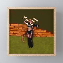 Fan The Flames Framed Mini Art Print