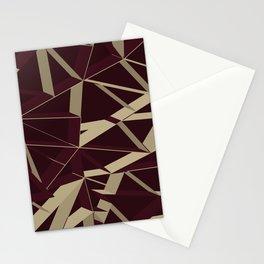 3D Futuristic GEO VIII Stationery Cards