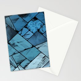 Geode study #3 Stationery Cards