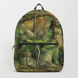 Paul Cézanne - Dans le parc de Château Noir Backpack