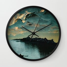 A Meditation Wall Clock