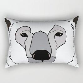 Canadian Polar Bear Rectangular Pillow