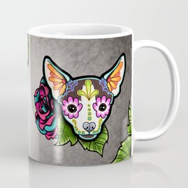 Chihuahua in Moo - Day of the Dead Sugar Skull Dog Coffee Mug