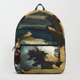Paul Cezanne - Les Voleurs et l'âne Backpack