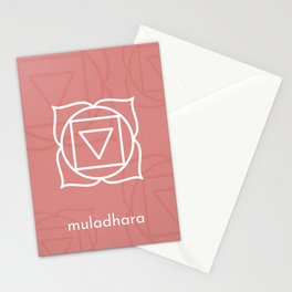 Muladhara Root Chakra  Stationery Cards