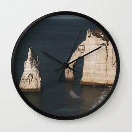Étretat #5 Wall Clock
