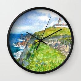 Cabo da Roca, Portugal Wall Clock