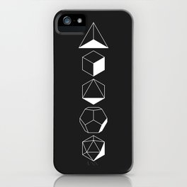 Platonic iPhone Case