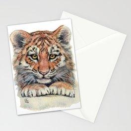 Cute Tiger Cub 903 Stationery Cards